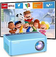 مینی پروژکتور ، پروژکتور فیلم قابل حمل XOPPOX برای هدایای کودکان ، کارتون ، ویدئو پروژکتور رنگی Pico LED در فضای باز ، پروژکتور تلفن پشتیبانی 1080p برای سینمای خانگی با رابط HDMI USB SD AV