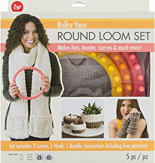 Best bulky yarn round loom patterns Reviews