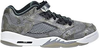 buy popular 33e43 99fca Jordan Air 5 Retro Prem Low GG Big Kid s Shoes Cool Grey Wolf Grey