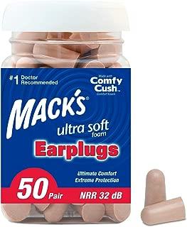 sleep ear plugs by Mack's