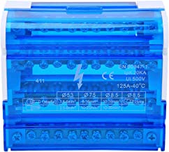 𝐍𝐞𝒘 𝐘𝐞𝐚𝐫𝐬 𝐆𝐢𝐟𝐭𝐬Small size Terminal Strip Blocks, Standard NS35 Dust proof insulation Distribution Box, for PL...