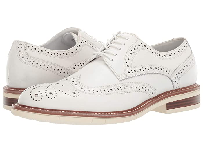 1920s Tennis Clothes | Womens and Men's Outfits Kenneth Cole Reaction Klay Flex Lace-Up D Off-White Mens Shoes $112.50 AT vintagedancer.com