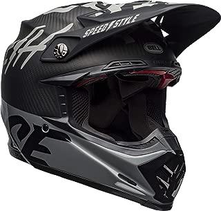 Bell Moto-9 Flex Off-Road Motorcycle Helmet (Fasthouse WRWF Matte/Gloss Black/White/Gray, Small)