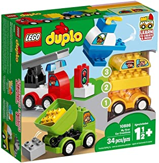 LEGO DUPLO My First My First Car Creations for age 1.5+ years old 10886