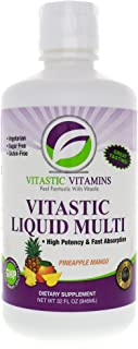 Vitastic Vitamins Liquid Multi-Vitamin Pineapple Mango