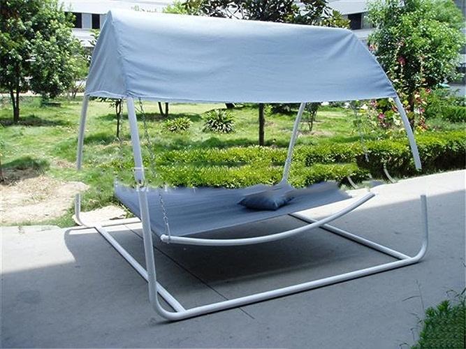 MONEYY Hamac extérieur Deux Personnes Loisirs hamac extérieur, lit couché, avec moustiquaires 260  220  200 cm, 260  220  200 cm