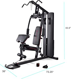 Amazon weight stack home gyms strength training equipment