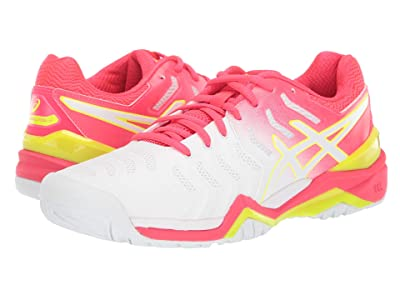 ASICS Gel-Resolution 7 (White/Laser Pink) Women