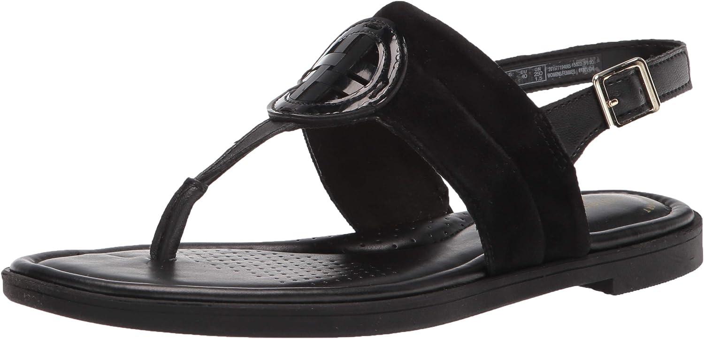 Clarks Women's Reyna Glam Flat Sandal