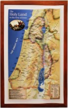 Raised Relief 3D Map of Israel in Jesus' Time (Shows Place Names Under Roman Rule)