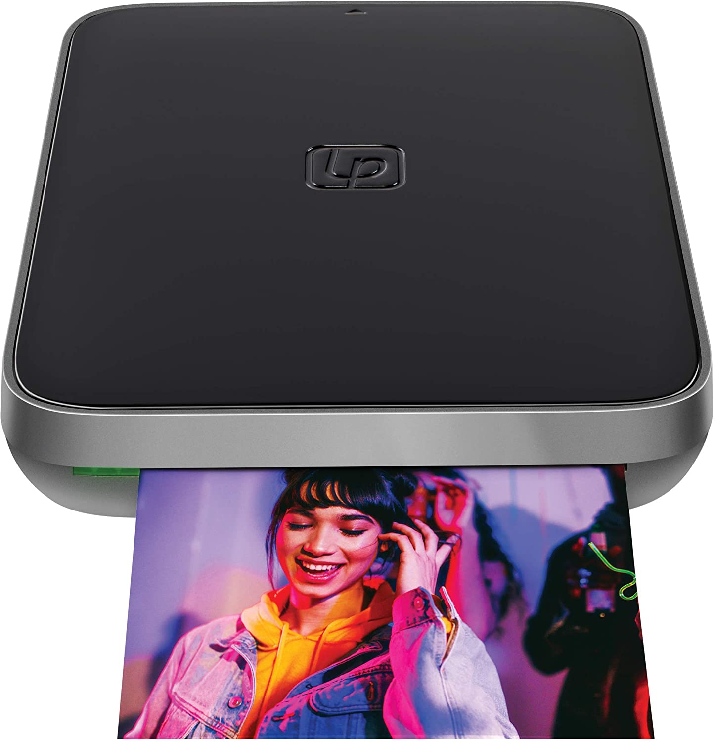 Lifeprint 3x4.5 Portable Photo AND Video Printer for iPhone and Android. Make Your Photos Come To Life w/ Augmented Reality - Black