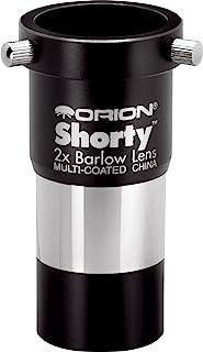 Orion, Lens, Shorty-Barlow-lens, 3,2 cm, 2 x Barlow lenzen, zwart 08711