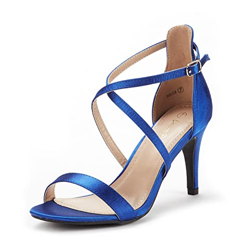 2f05993f569 DREAM PAIRS Women s Dolce Fashion Stilettos Open Toe Pump Heel Sandals
