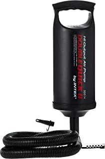 Intex Double Quick 1 Hand Pumpe – Luftpumpe – 29 cm – Mit 3 Düsenaufsätze