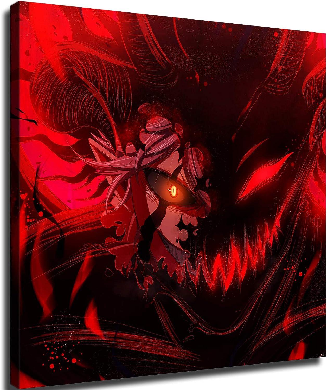 Japan Max 51% OFF Anime Black clover Many popular brands poster Wall art HD Decor Xirokey Canvas