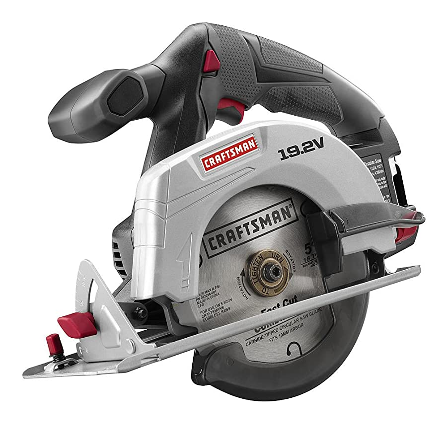 Craftsman C3 19.2 Volt 5 1/2 Inch Circular Saw Model CT2000 (Bare Tool, No Battery or Charger Included) Bulk Packaged way999376315