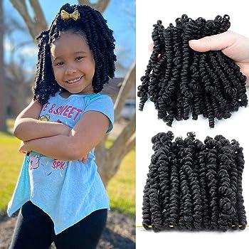 Amazon Com Micro Crochet Braids Kids 1 Pack Crochet Twist Synthetic Hair Extension 10 Inch Senegalese Mambo Twist 1b Beauty