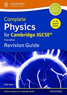 Complete Physics for Cambridge IGCSE® Revision Guide: Third Edition