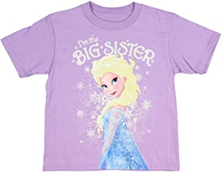 Disney Frozen Elsa I'm The Big Sister Little Girl's T-Shirt