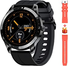 """Blackview Smart Watch for Android Phones and iOS Phones, Smart Watches for Men Women, Fitness Tracker Watch with Heart Rate Sleep Monitor, 1.3"""" Full Touch Screen, 5ATM Waterproof Pedometer(46mm)"""