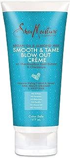 Shea Moisture Argan Oil & Almond Milk Smooth & Tame Blow Out Creme