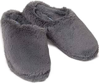 PajamaGram Fuzzy Slippers for Women - Washable Slip-Ons