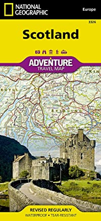 National Geographic Adventure Map Scotland