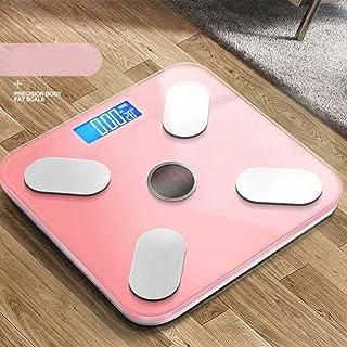 Báscula Grasa Corporal Báscula digital Báscula de Bluetooth, de peso digital Báscula de baño, de alta precisión Balanza por un analizador de la composición corporal, inteligente aplicación for el cuer