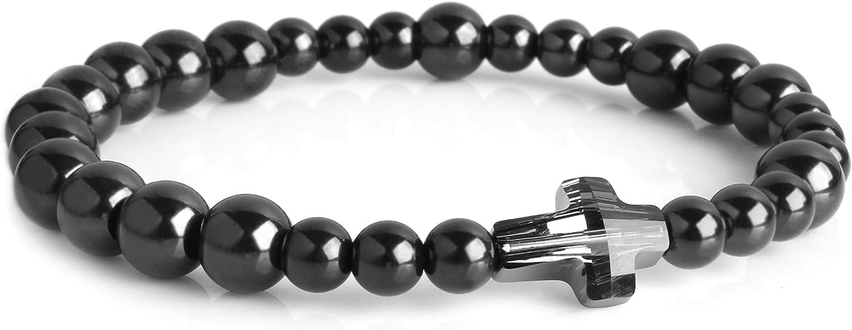Bracelet Don't miss the campaign Catholic Rosary Edition 99.9% service Pure Swarovski Titanium C