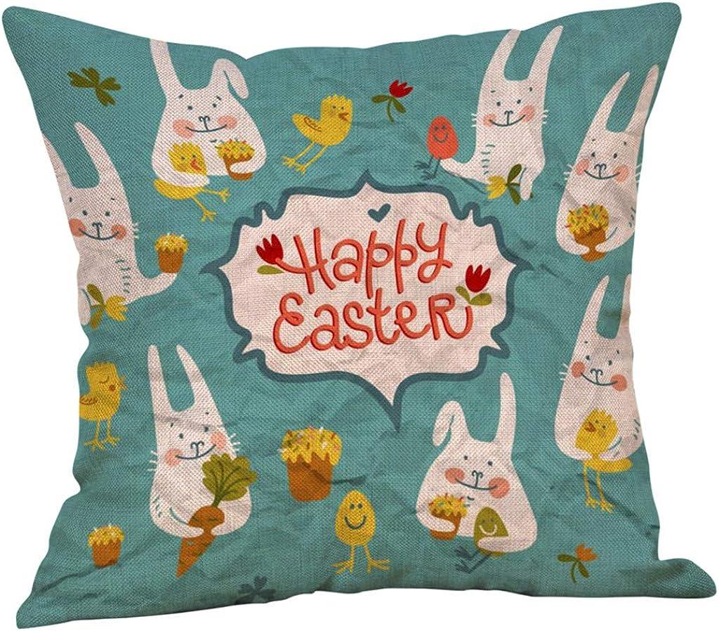 Yivise Happy Pascua Cuadrados Fundas Semana Santa de ...