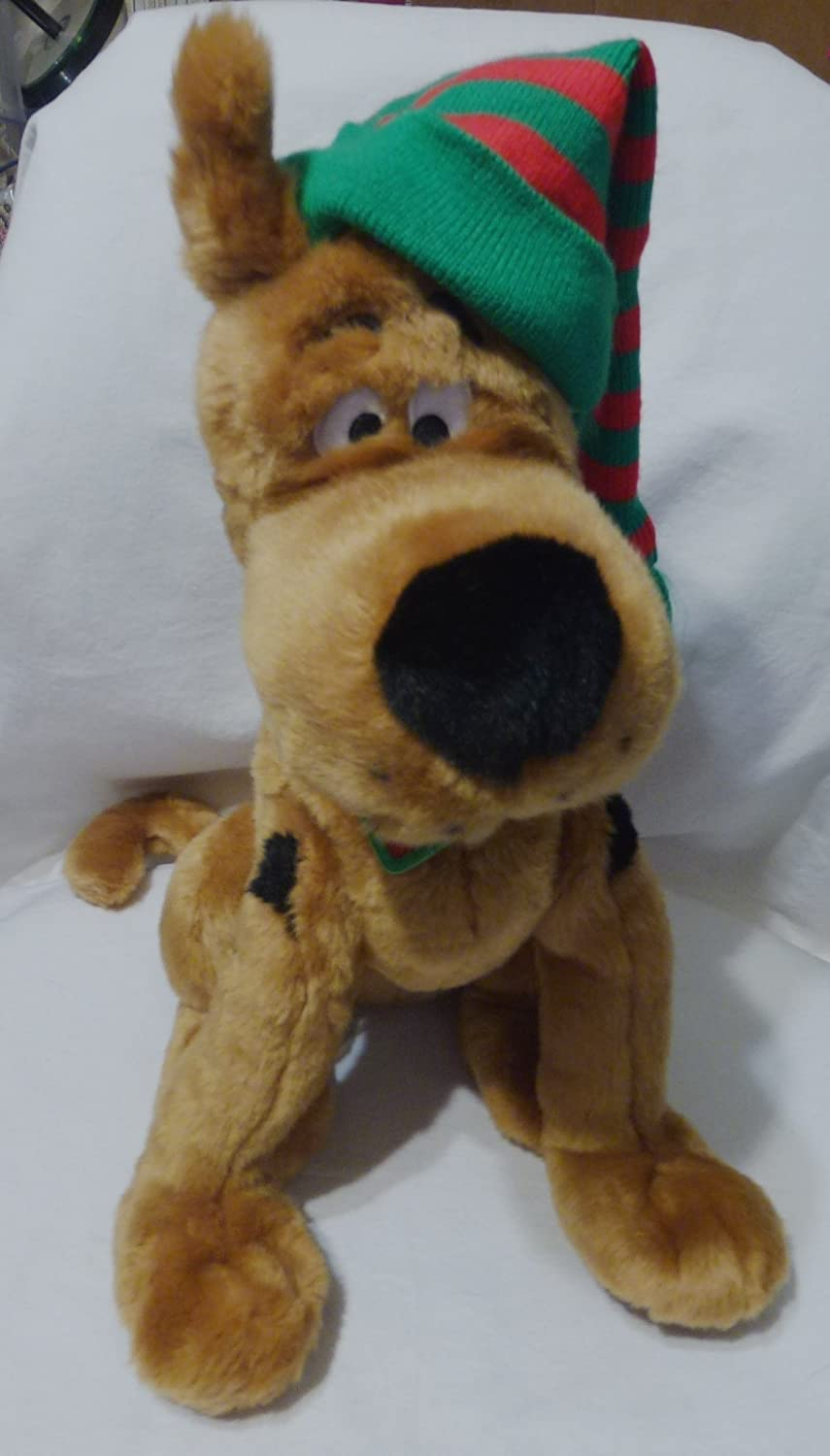 Macy's Exclusive Holiday Scooby-Doo Plush Toy & CD-Rom
