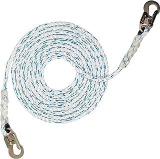 "طناب Pelican Rope 5/8 ""x 25"" کامپوزیت طناب نجاری عمودی با انتهای اسنپ قلاب فولادی"