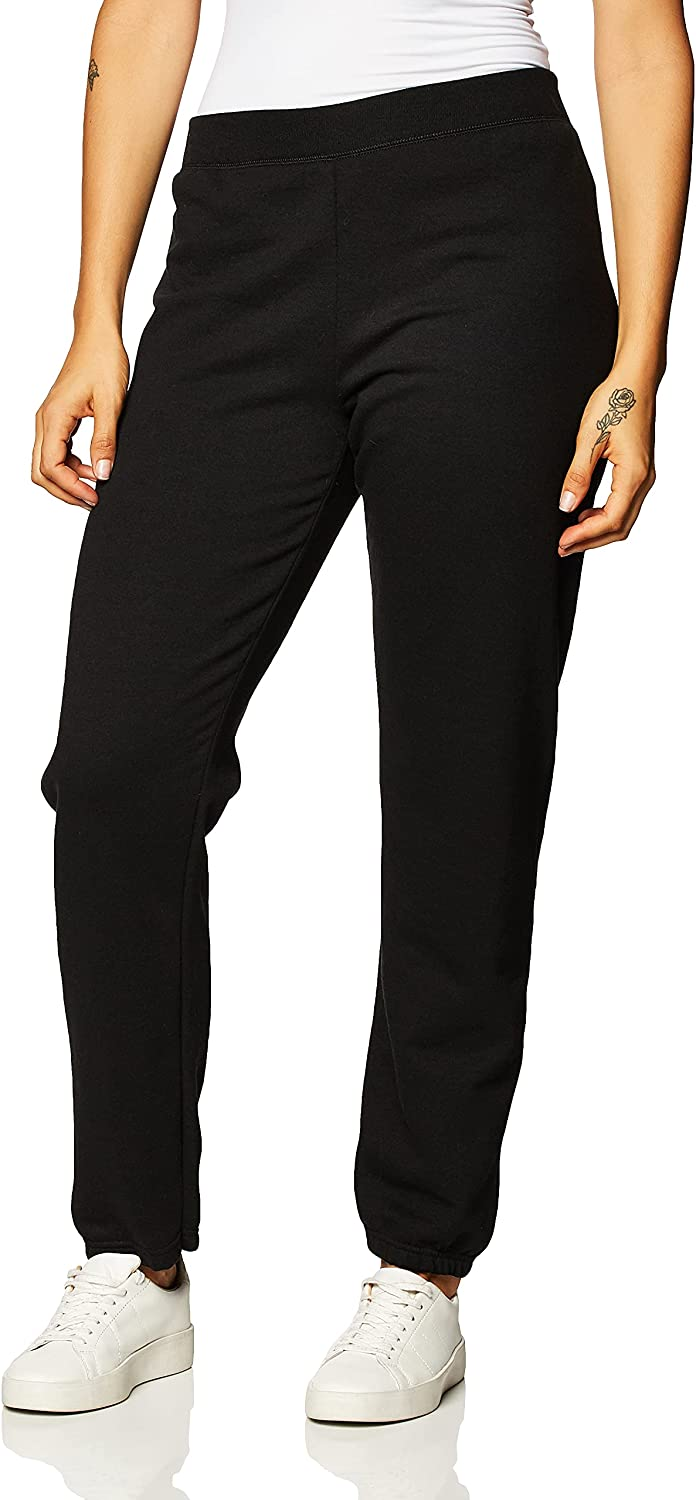 Hanes Women's EcoSmart Cinched Cuff Sweatpants Detroit Mall Courier shipping free shipping