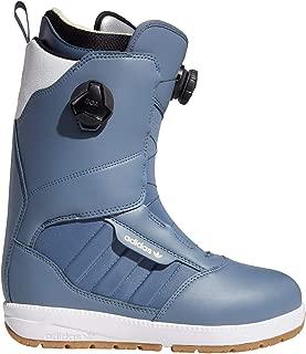 Adidas Mens Response 3 MC ADV Snowboard Boots Raw Steel/FTWR White/Gold Met 10