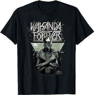 Marvel Black Panther Wakanda Forever Prism Patterned T-Shirt