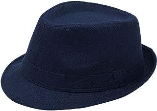 Unisex Timelessly Classic Manhattan Fedora Hat