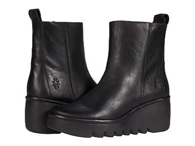 FLY LONDON BALE250FLY (Black Verona Leather) Women