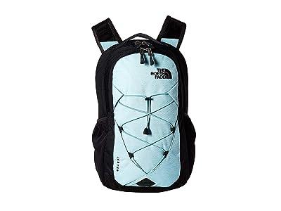 The North Face Jester Backpack (Windmill Blue Splinter Light Heather/Asphalt Grey Light Heather) Backpack Bags