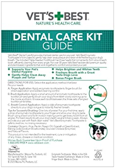 Vet's Best Enzymatic Dog Toothpaste   Teeth Cleaning and Fresh Breath Dental Care Gel   Vet Formulated