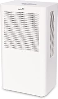 Ivation Small-Area Compact Dehumidifier with Continuous Drain Hose for Smaller Spaces, Attic and Closets- Thermo-Electric Technology, Small in Size, Quiet Operation - Removes 70oz of Water Per Day