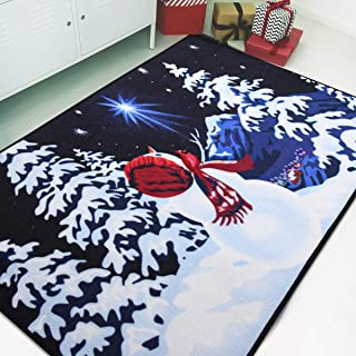Softlife Christmas Party Decoration Area Rug 35