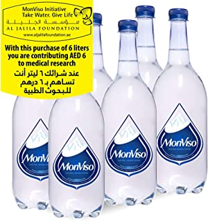 Monviso Still Natural Mineral Water - 1 Litre (Pack of 6)