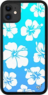 Wildflower Limited Edition Cases Compatible with iPhone 11 (Blue Hibiscus)