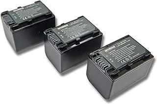 3X INTENSILO Batería Li-Ion 1500mAh (7.2V) para Videocámara Cámara de Vídeo Sony HDR-CX450 HDR-CX625 HDR-PJ620 y NP-FV70 NP-FV90 NP-FV100.
