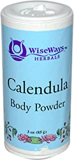 Wise Ways Herbals, Body Powder Calendula, 3 Ounce
