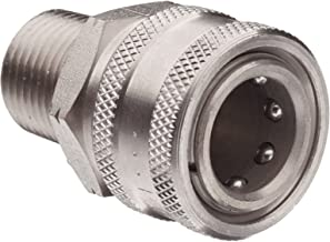 Dixon STMC4SS Stainless Steel 303 Hydraulic Quick-Connect Fitting, Coupler, 1/2