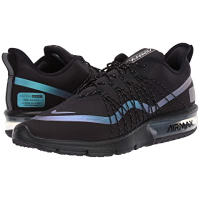 Nike Air Max Sequent 4 Shield (Black/Racer Blue/Thunder Grey) Men