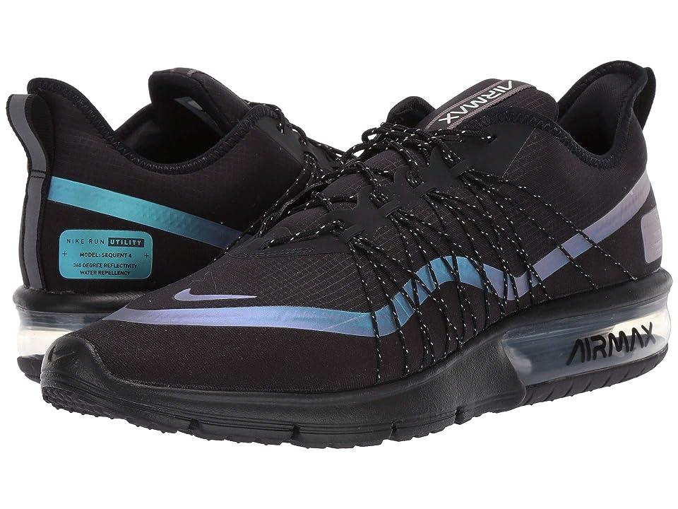 Nike Air Max Sequent 4 Shield (Black/Racer Blue/Thunder Grey) Men