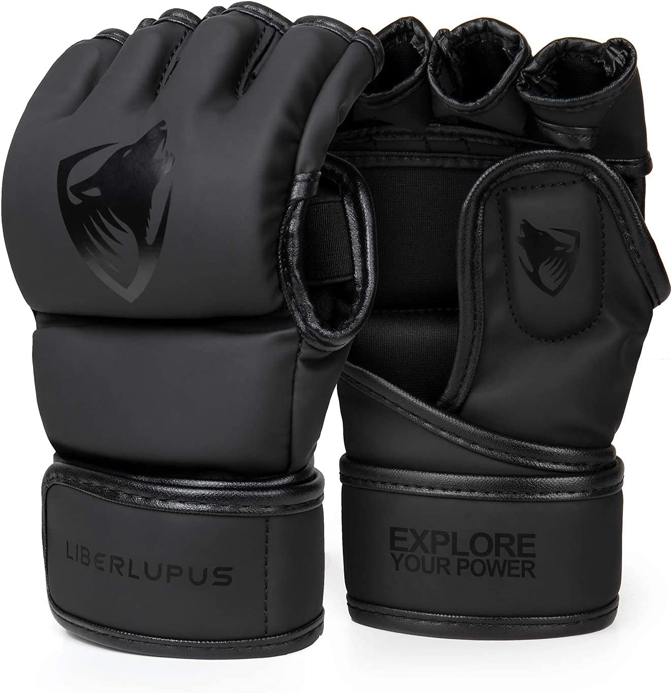 Liberlupus MMA Max 45% OFF Gloves for Men with Kickboxing Op Discount is also underway Women