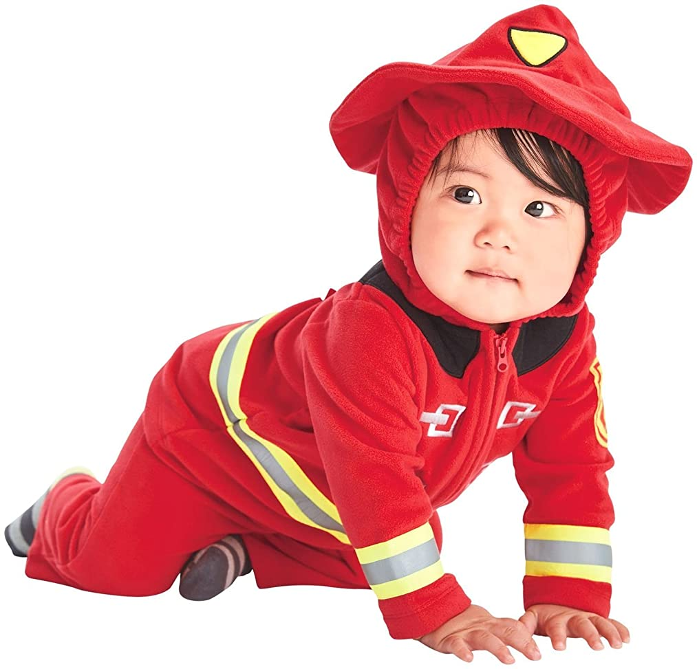 Carter's Baby Boys' Fire Fighter Fireman Costume, (Red)